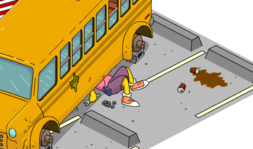 Tapped Out Otto Work on the Bus.png