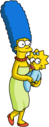 Tapped Out Marge Take Maggie for a Walk.png