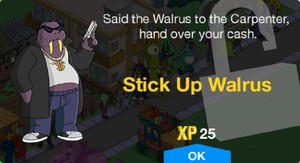 Stick Up Walrus Unlock.png