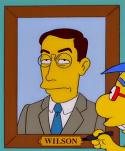 Woodrow Wilson - Wikisimpsons, the Simpsons Wiki
