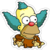 Tapped Out Coat of Foxes Krusty Icon.png