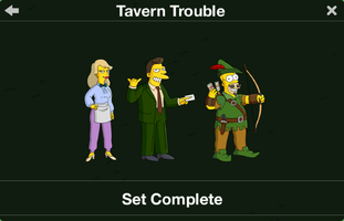 The Simpsons: Tapped Out characters/Tavern Trouble
