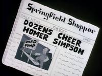 Springfield Shopper - Dozens Cheer Homer Simpson.png