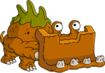 Tapped Out Bulldozer-saurus.png
