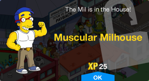 Muscular Milhouse Unlock.png