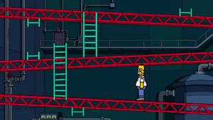 8-Bit Homer Donkey Kong Arcade.png