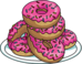 Plate of 6 Donuts.png