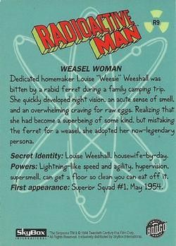 R9 Weasel Woman (Skybox 1994) back.jpg
