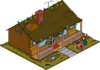 Tapped Out Christmas Muntz House melted.png