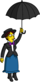 Tapped Out Shary Bobbins Fly on her Umbrella.png