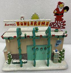 Simpsons Christmas Village Bowlarama.jpg