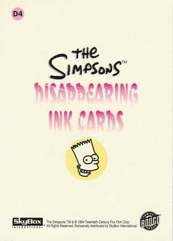 D4 Bart Simpson (Skybox 1994) back.jpg