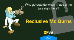 Tapped Out Reclusive Mr. Burns Unlock.png