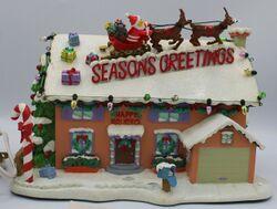 Simpsons Christmas Village Flanders House.jpg