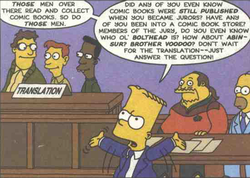 Simpsons Comics 39 CBG's opening statement 4.png