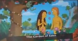 The Simpsons Ride Adam Eve.jpg