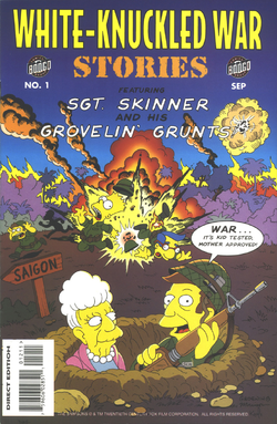 White-Knuckled War Stories Spare the Rod, Spoil the Grunt (Front Cover).png