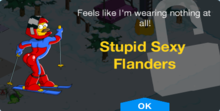 Tapped Out Stupid Sexy Flanders unlock.png