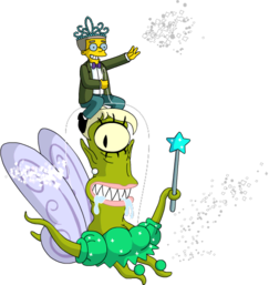 Tapped Out KodosFairy Spread Glitter Around Town With Smithers.png