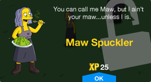 Maw Spuckler Unlock.png