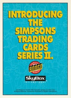 P1 Introducing The Simpsons Trading Cards Series II (Skybox 1994) front.jpg