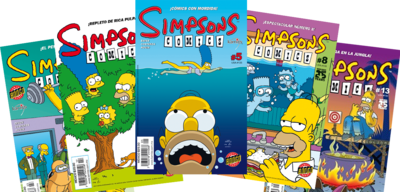 Simpsons Comics Mexico 2 logo.png