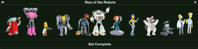 The Simpsons: Tapped Out characters/Rise of the Robots