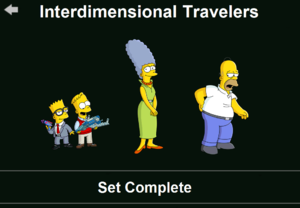 The Simpsons: Tapped Out characters/Interdimensional Travelers