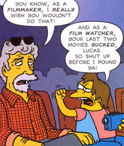 Nelson Threatens George Lucas.png