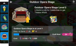 Tapped Out Outdoor Opera Stage Level Up.png