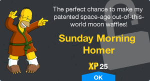 Sunday Morning Homer Unlock.png