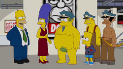 Exit Through the Kwik-E-Mart Wiggum Eddie Lou.png