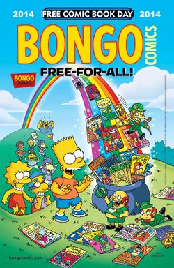 bongo comics free for all 2014 wikisimpsons the simpsons wiki