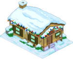 Tapped Out Christmas Brown House.png