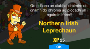Northern Irish Leprechaun Unlock.png