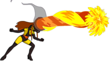 Tapped Out CharcoalBriquette Flame On.png