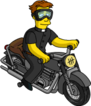 Tapped Out FatherSean Be Cool on Motorbike.png