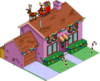 Tapped Out Christmas Purple House melted.png