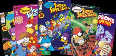 Simpsons Super Spectacular German logo.png