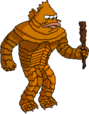 Tapped Out Blinky Monster Threaten Onlookers.png