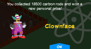 Tapped Out Clownface Price.png