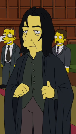 Severus Snape - Wikisimpsons, the Simpsons Wiki Benedict Cumberbatch