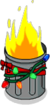 Tapped Out Festive Trash Can Fire.png