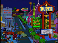 Mr burns casino tapped out