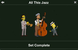 The Simpsons: Tapped Out characters/All This Jazz