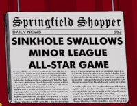 Sinkhole Swallows Minor League All-Star Game Springfield Shopper.png