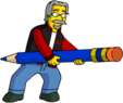Tapped Out MattGroening Attempt to Erase Homer1.png
