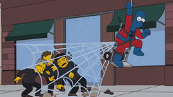 Homer Spider-Man parody.png