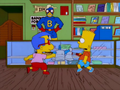 Bart and Milhouse Duel.png
