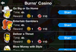 TSTO Casino Burns' Casino Currency Earning Jobs.png
